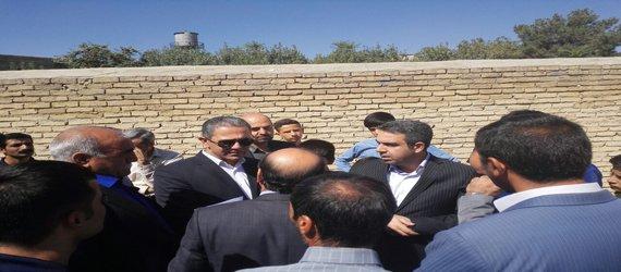 دیدار سرپرست شهرداری و اعضاء شورای شهر از منطقه محروم کهریز