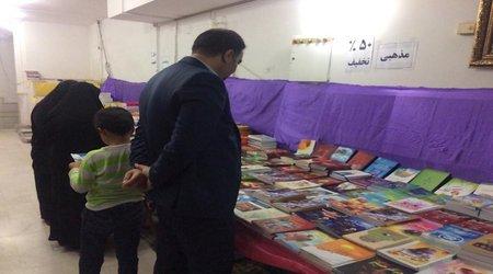 بازدید مهندس کاظمی شهردارفردوس از نمایشگاه کتاب