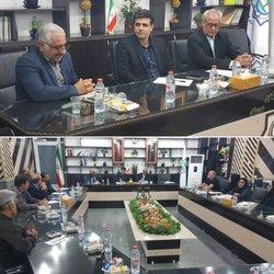 نشست مشترک شهردار خرمشهر با اعضا هیئت ورزش های همگانی
