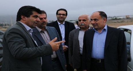 بازدید شهردار و مدیرکل فرهنگ و ارشاد اسلامی استان مازندران از پروژه های شهرداری کلاردشت