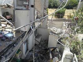 تصاویری از تخریب منازل مسکونی در ناحیه منفصل شهری حسن آباد بر اثر نشت گاز