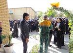بیش از سه هزار بوته گل در بین مدارس سطح شهر ارومیه توزیع شد