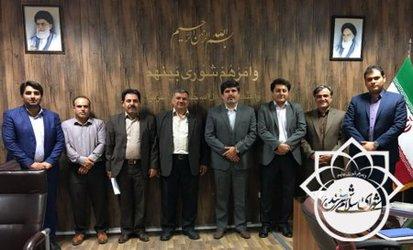 جلسە انتخاب رئیس هیئت امنا و رئیس مرکز مطالعات و پژوهش های شورای اسلامی شهر سنندج.