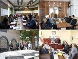 جلسه بررسی مسائل و مشکلات تداخل اراضی ملی و محیط های روستایی در سطح روستاهای مرزی جلفا