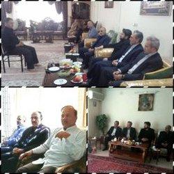همزمان با هفته دفاع مقدس؛ دیدار مدیرکل حفاظت محیط زیست استان اصفهان با دو ایثارگر وآزاده دوران جنگ تحمیلی