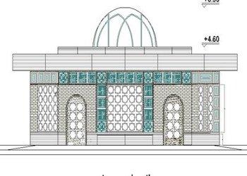 پروژه طراحی نمازخانه دهکده طبیعت واقع در بوستان...