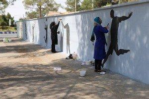 زیبا سازی دیوارهای سطح شهر در دستور کار شهرداری زرند