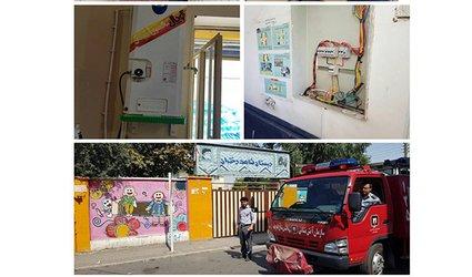 طرح بازدید ایمنی از مدارس سطح شهر گرگان