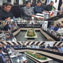 جلسه ی شهردار خرمشهر با پیمانکاران و ناظرین پروژه های عمرانی