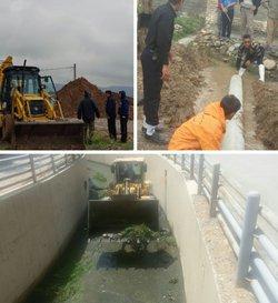 عملیات لایروبی رودخانهها، مسیلها و کانالهای درون شهری تحت نظارت شهرداری