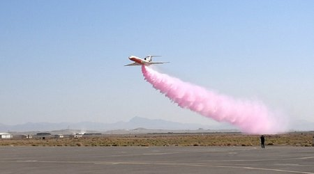 سامانه آتش نشانی هوایی در اصفهان رونمایی شد