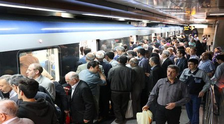 ۴۰ درصد بر میزان مسافران قطارشهری افزوده شد