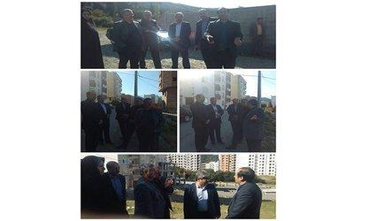 دکتر دادبود شهردارگرگان به همراه مهندس غراوى معاون استاندار گلستان و مهندس صفوى