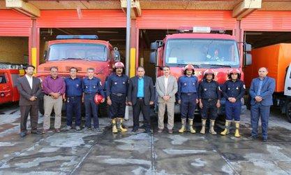 تجلیل فرماندار بافق از خدمات آتشنشانان شهرستان...