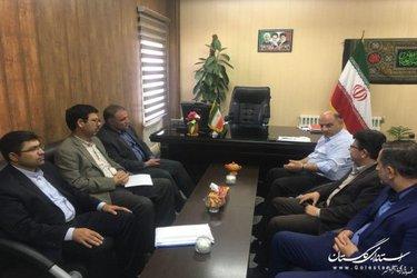 بازدید معاون اداره کل مدیریت بحران گلستان از پروژههای حوادثی شهرستان آزادشهر