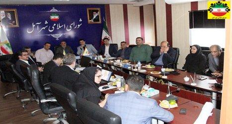 برگزاری جلسه بررسی طرح تجدید نظر طرح جامع شهر آمل