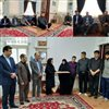 دیدار با خانواده شهیدان آخوندی و حسامی در هفته دفاع مقدس