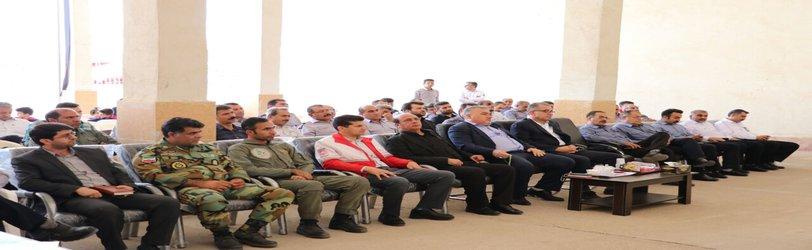 بزرگداشت ۷ مهرماه، روز آتش نشانی و ایمنی توسط شهرداری مسجدسلیمان