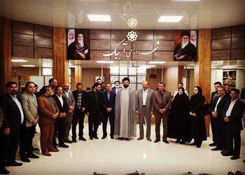 افتتاح و بهر ه برداری از پروژه بهسازی ساختمان اداری شهرداری آبیک