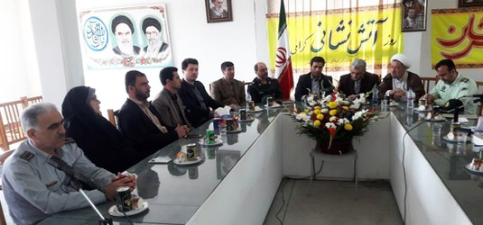 گرامیداشت ۷ مهر روز آتش نشان و ایثارگران