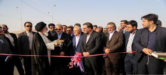 افتتاح پروژه بلوارآیت اله بروجردی