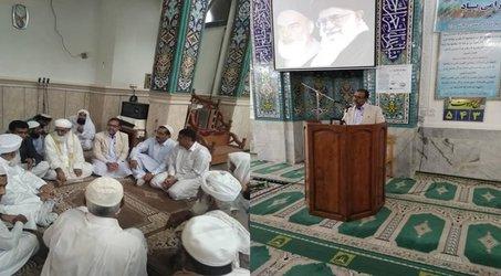 سخنرانی مهندس حسینی  ناروئی  در بین خطبه های نماز جمعه شهرستان  کنارک