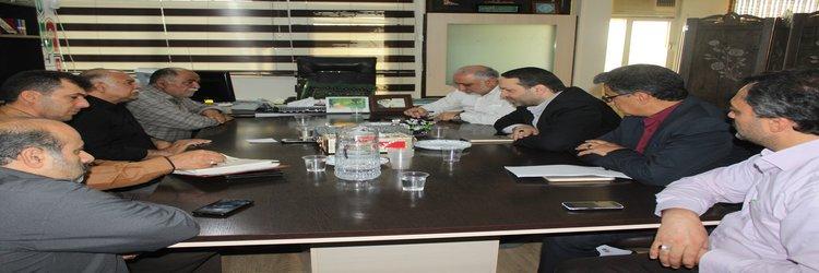 جلسه مشترک مدیران کل بنیاد مسکن و حمل و نقل و پایانه های استان سمنان