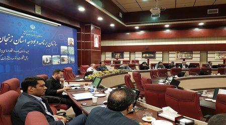 برگزاری جلسه بررسی طرح توسعه پایدار منظومه های روستایی استان
