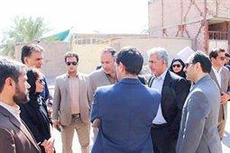 بازدید بلوردی از پروژههای شرق استان کرمان