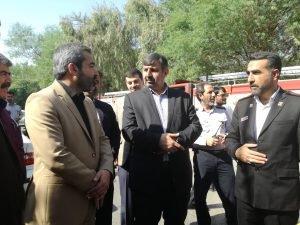 مدیر کل مدیریت بحران خوزستان بر به روز بودن امکانات آتشنشانی  تاکید کرد