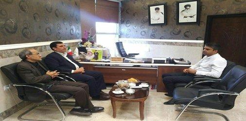 دیدار رییس اداره آموزش و پرورش اسکو با شهردار اسکو