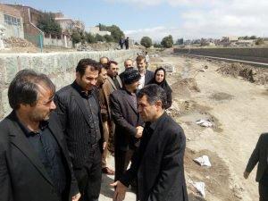 بازدید مهندس بدری نماینده مردم اردبیل، نمین ،نیر و سرعین در مجلس شورای اسلامی از پروژه های عمرانی شهرداری نمین