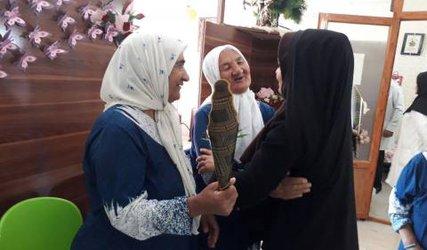 دیدار کمیته امور بانوان فرمانداری از سرای سالمندان بهشت مادران گلبهار