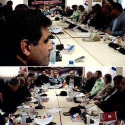 حضور شهردار خرمشهر در بازدید وزیر کشور از شلمچه و مواکب خدمات رسان به زائرین اربعین حسینی