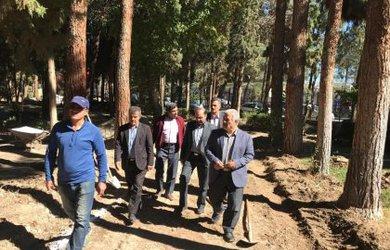 بازدید رئیس و اعضای محترم شورای اسلامی شهر دامغان از پروژه های عمرانی شهرداری