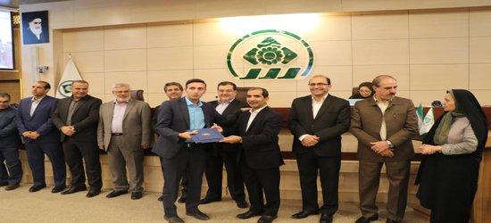 تجلیل از مدیران ورزش شیراز در صحن علنی شورای شهر شیراز