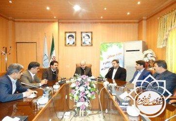 دیدار اعضای شورای اسلامی شهر سنندج،با رئیس کل دادگستری استان