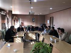 برگزاری جلسه ستاد مدیریت بحران شهر بانه با حضور شهردار بانه و اعضا ستاد