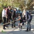 فینال مسابقات طناب کشی ویژه کارکنان شهرداری رفسنجان برگزار شد