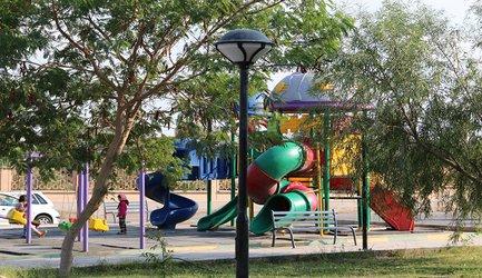 نوسازی و ساماندهی روشنایی پارک دکتر افلاطونیان و ارکیده