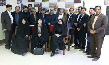 نشست ادوار شورا (شورای سابق شهر)وتشکیل اتاق تجربه در شورای اسلامی بم