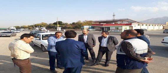 بازدید سرپرست شهرداری از دیزل آباد