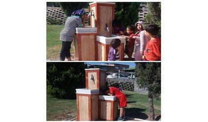 احداث آبخورى هاى جدید با کاربرى ویژه جهت استفاده کودکان و بزرگسالان