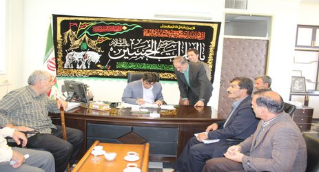 ملاقات عمومی شهردار نهاوند با شهروندان