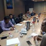 جلسه هماهنگی ناظرین گاز شهرستان نهبندان برگزار گردید