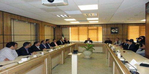 دیدار ریاست و منتخبین هیات مدیره دوره چهارم سازمان با شهردار کرج