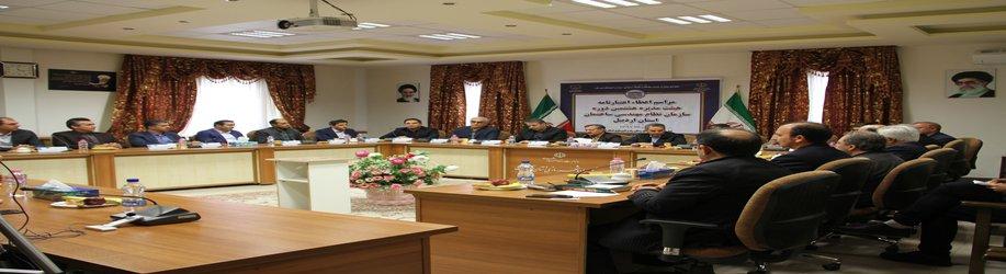 اعتبارنامه هیئت مدیره جدید سازمان نظام مهندسی ساختمان استان اردبیل اعطاء شد