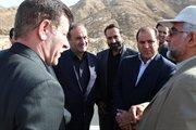 بازدید وزیر راه و شهرسازی از محور ایلام-مهران