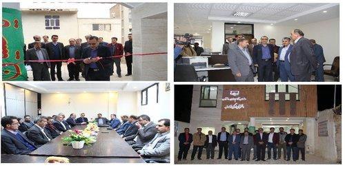ساختمان دفتر نمایندگی سازمان نظام مهندسی در فردانبه افتتاح شد