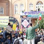 همزمان با سراسر کشور :  راهپیمایی یوم الله ۱۳ آبان در سراسر آذربایجان غربی برگزار شد